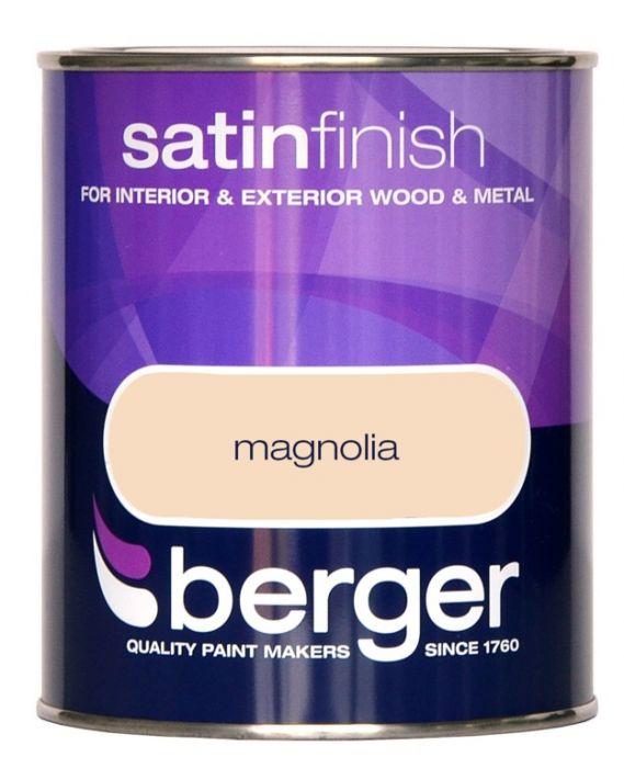 Berger Satin Sheen 750ml Magnolia