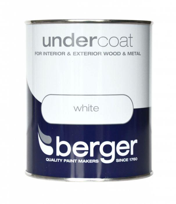 Berger Undercoat 750ml White