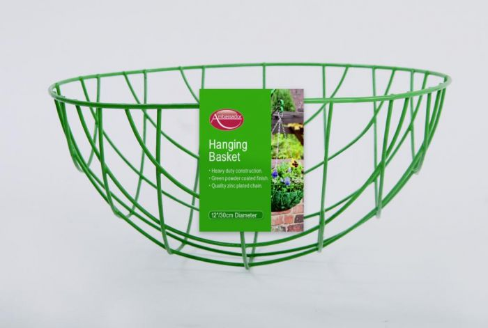 Ambassador Hanging Basket 35cm/14 Green