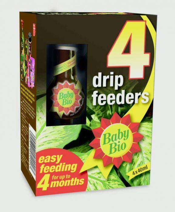 Baby Bio Drip Feeders 40ml Pack of 4