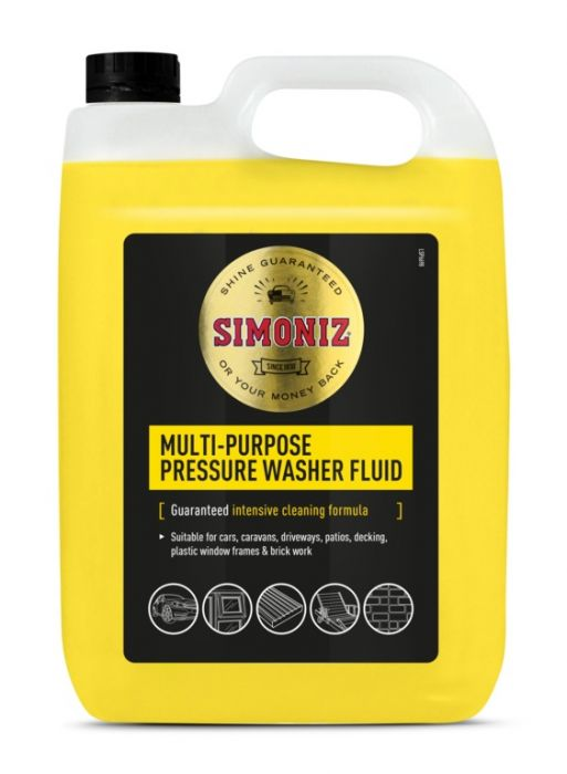 Simoniz Pressure Washer Detergent 5L