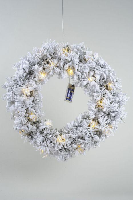 Snowy Toronto Wreath