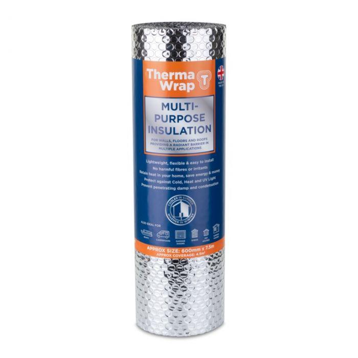 Thermawrap General Purpose Wrap 600mm x 7.5m