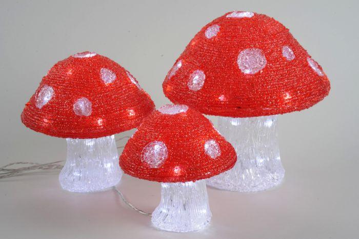 Led Outdoor Acrylic Mushroom