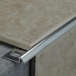Tile Rite Silver Tile Edging 2.4m x 10mm