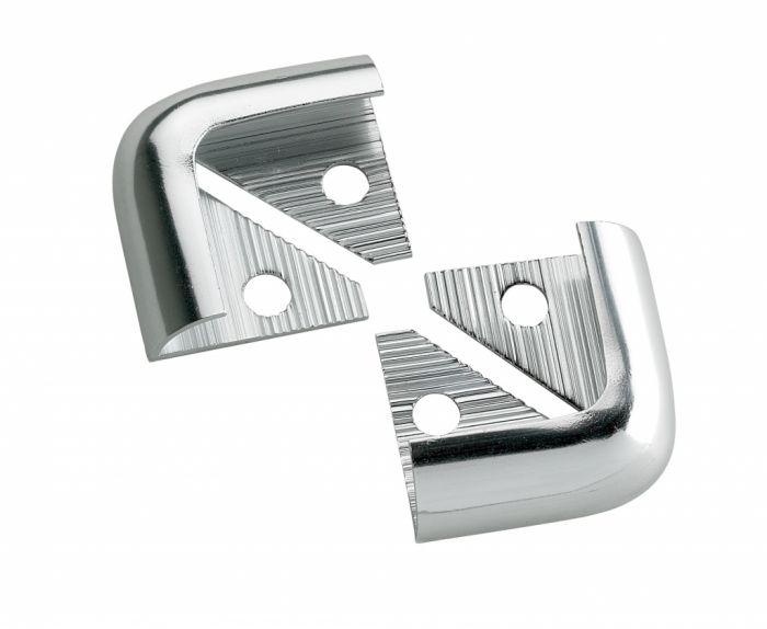 Tile Rite Silver Metal Corners 12mm 2 Pack