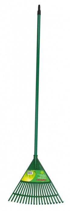 SupaGarden 21 Tine Plastic Rake 156cm