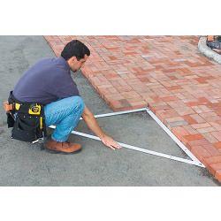 Stanley Folding Builders Square Length: 172cm x Width: 122cm