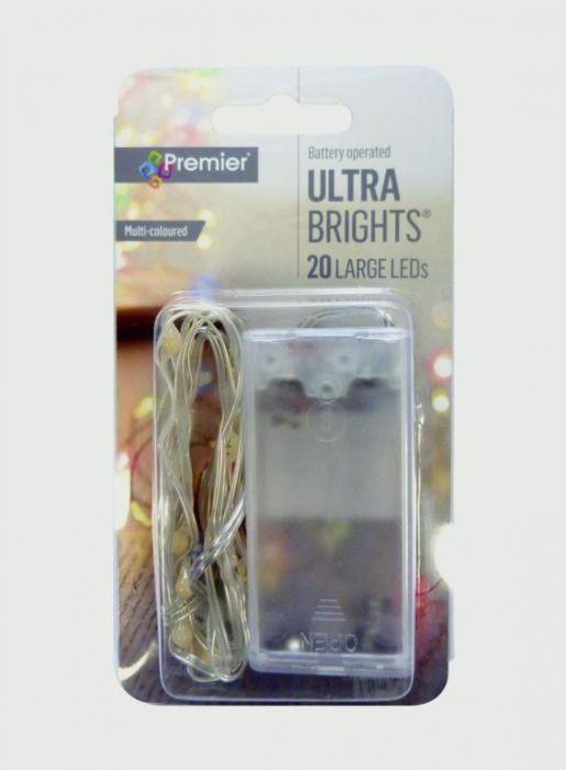 20 Indoor Ultrabrights Large Led Lights