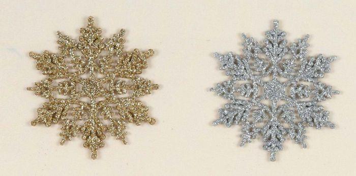 Glitter Snowflakes In Cdu
