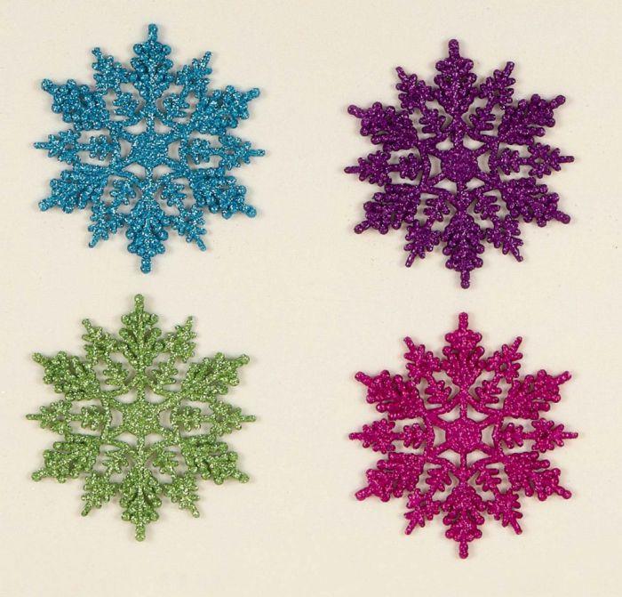 Multi Colour Snowflakes In Cdu