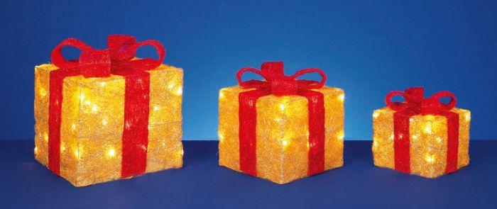 Led Glitter Parcels