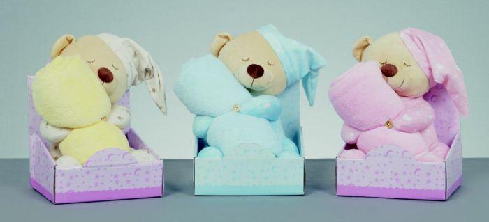 Bedtime Bear With Blanket