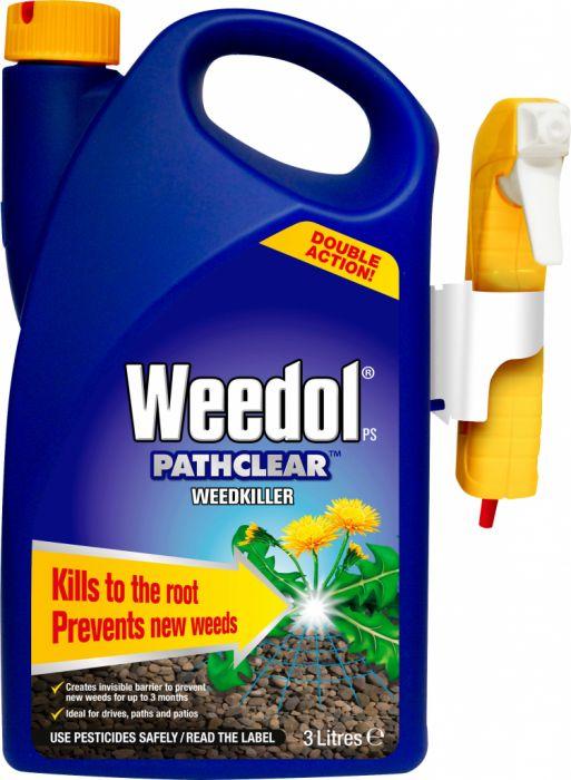 Weedol Pathclear Weedkiller 3L Gun