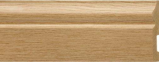 Emafyl Skirting Board 100mm x 2.9m Oak Effect