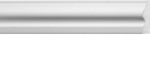 Emafyl White Architrave 2.2m 55 x 14mm
