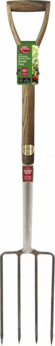 Ambassador Ash Handle Stainless Steel Border Fork Length: 95cm
