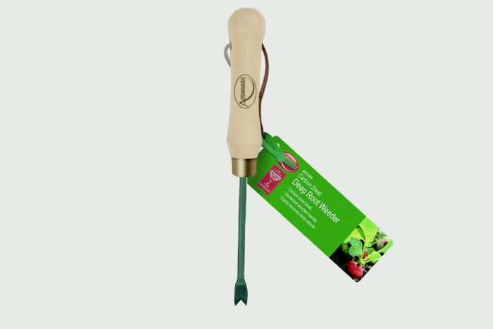 Ambassador Carbon Steel Deep Root Weeder
