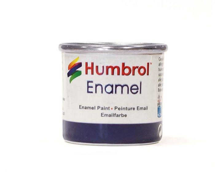 Humbrol Satin 14ml No 85 Coal Black
