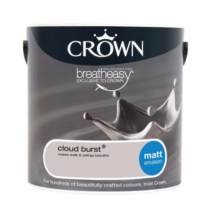 Crown Matt Emulsion 2.5L Cloud Burst