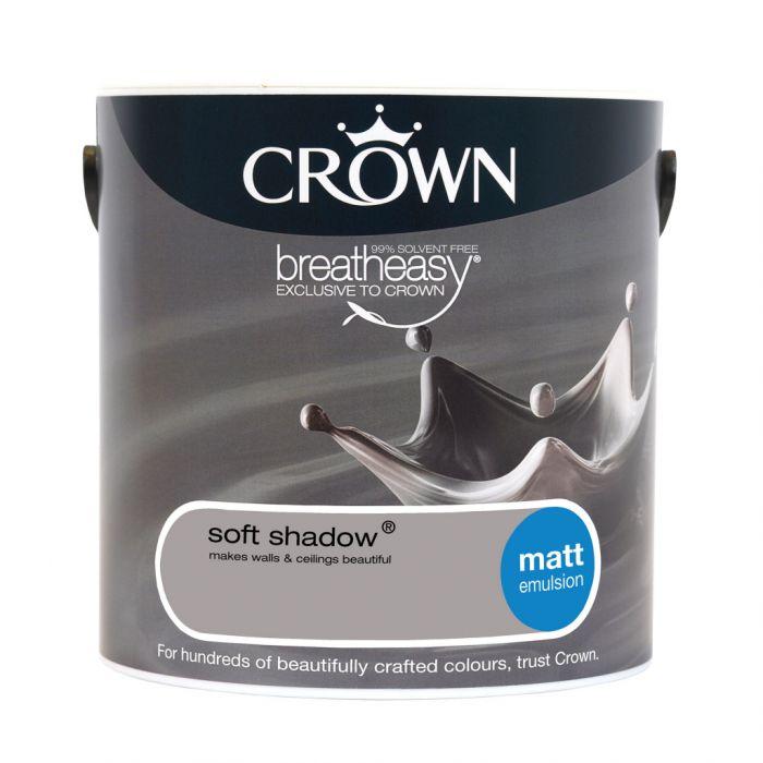 Crown Matt Emulsion 2.5L Soft Shadow