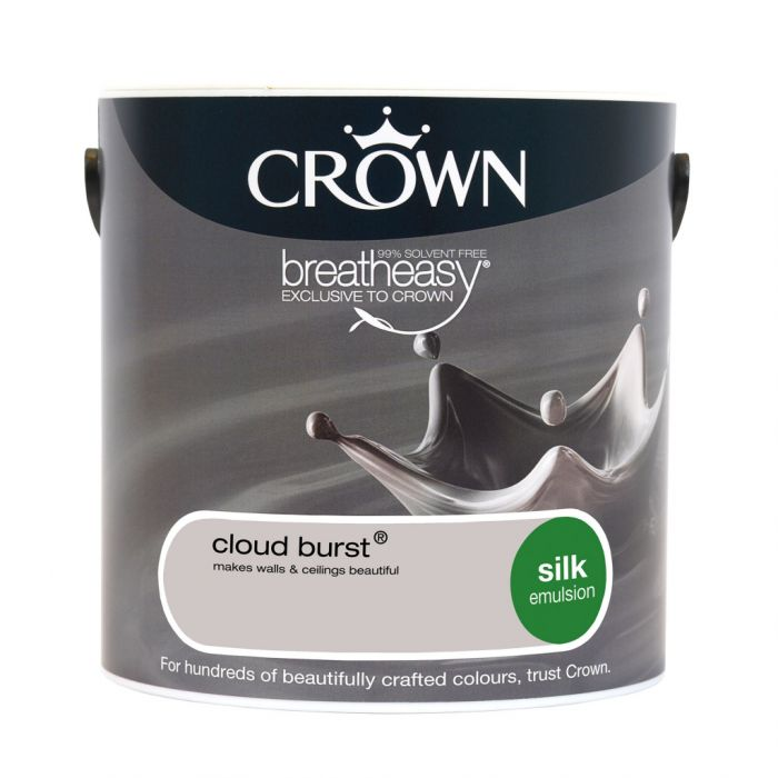 Crown Silk Emulsion 2.5L Cloud Burst
