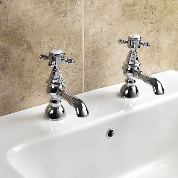 SP Traditional Bath Taps W: 71mm H: 140mm D: 141mm