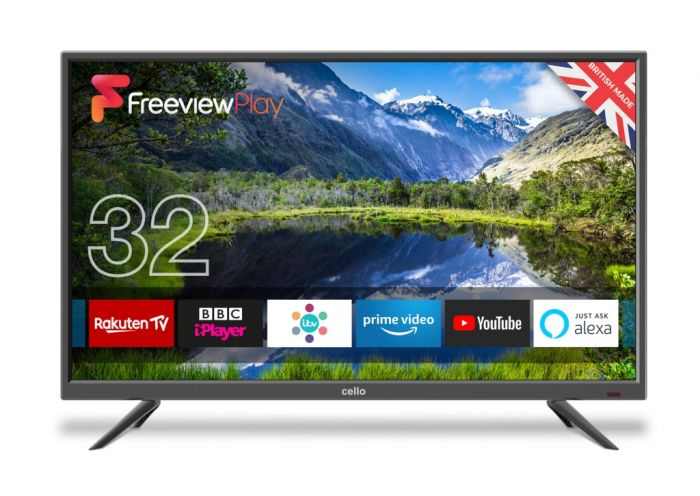 Cello Freeview Plus Play Smart Tv 32