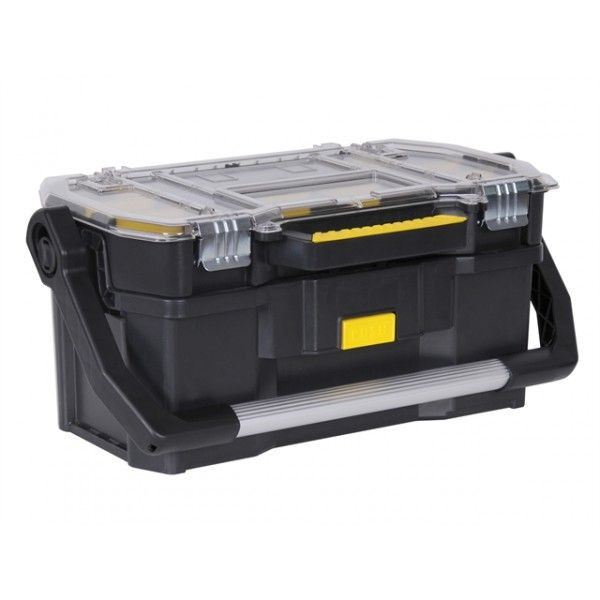 Stanley Tool Tote With Parts Organiser