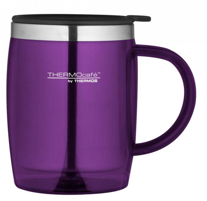 ThermoCaf�T by Thermos� Desk Mug 450ml Purple�