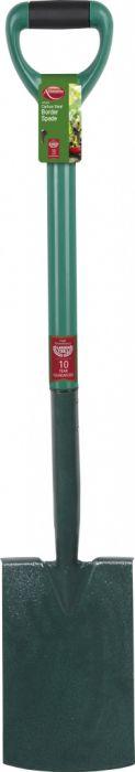 Ambassador Carbon Steel Border Spade Length: 93cm