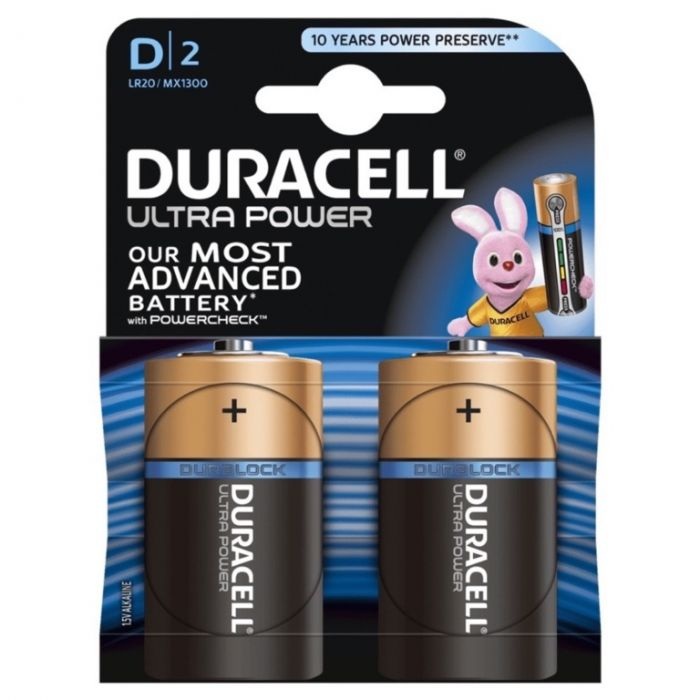 Duracell Ultra Power D Size