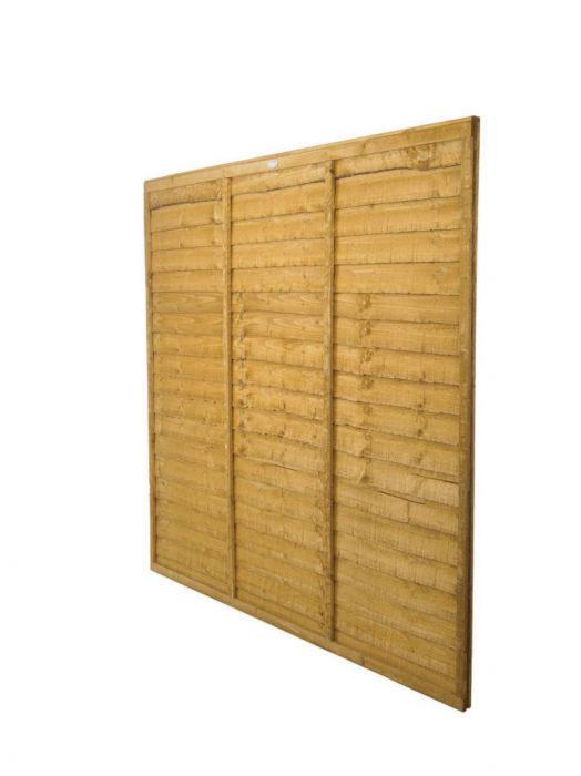 Forest Lap Fence Panel 6' X 3'