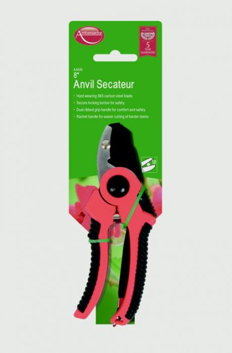 Ambassador Anvil Secateur 8