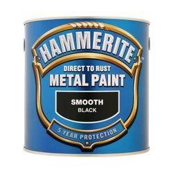 Hammerite Metal Paint Smooth 2.5L Black