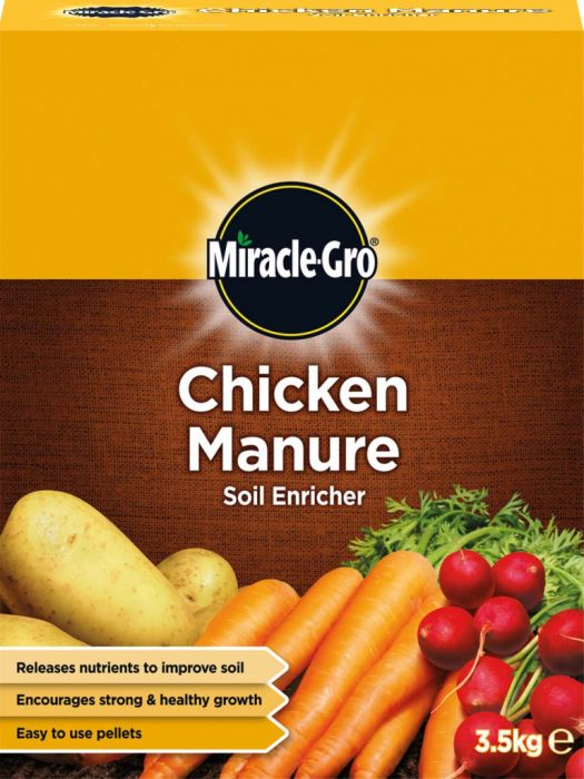 Miracle-Gro Chicken Manure 3.5kg