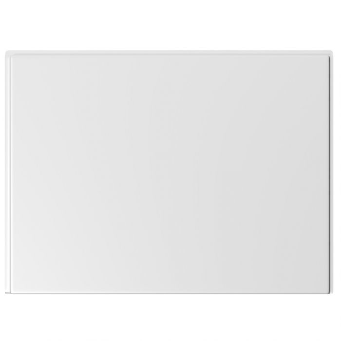 Trojan Supastyle Bath End Panel 700mm x 2mm White