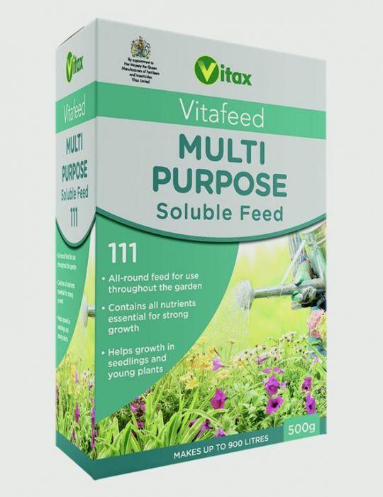 Vitax Multi Purpose Soluble Balanced Feed 500g