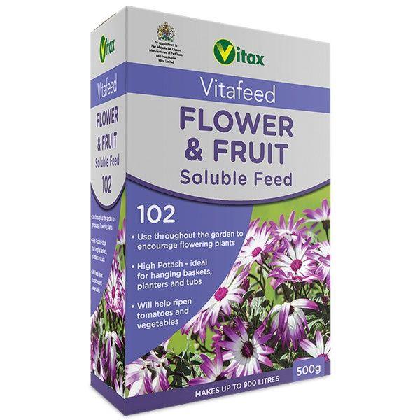 Vitax Flower & Fruit Soluble Feed 500g
