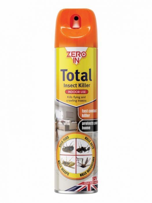 Zero In Total Insect Killer 300ml Aerosol