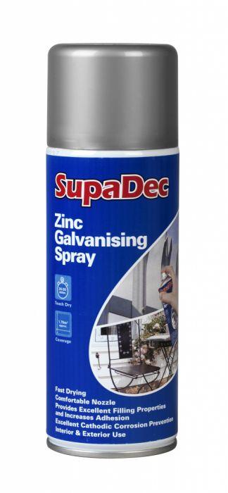 SupaDec Zinc Galvanising Spray