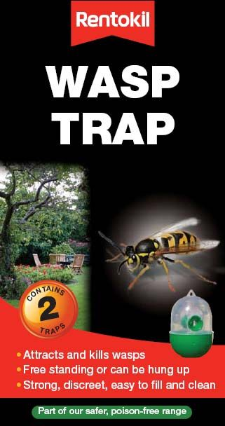 Rentokil Wasp Trap Twin Pack