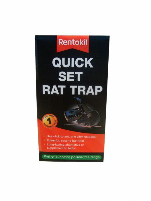 Rentokil Quick Set Rat Trap Single
