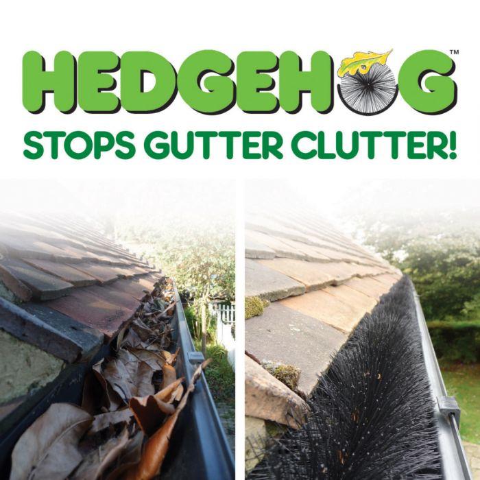 Easy Innovations Hedgehog Gutter Brush 4m x 100mm