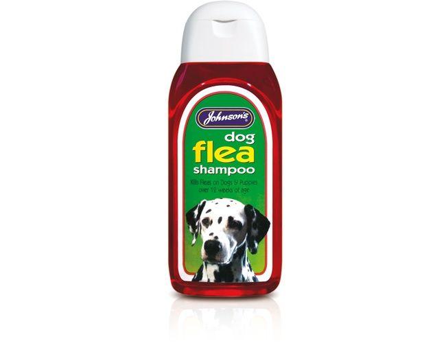 Johnsons Vet Dog Flea Insecticidal Shampoo 200ml
