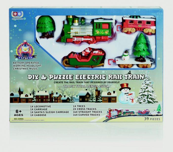 Diy Puzzle Train Track