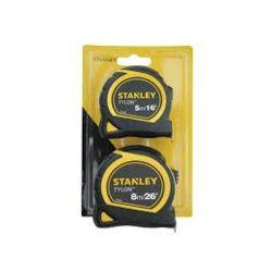 Stanley Tylon Tape 5m & 8m Twin Pack