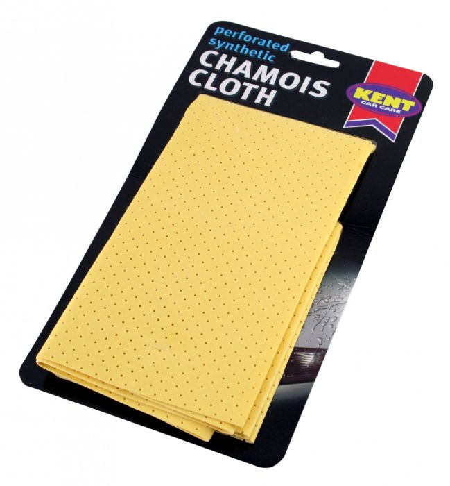 KENT Perforated Synthetic Chamois On Card