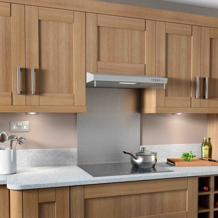 Kitchenplus Stainless Steel Extractor Hood 600mm