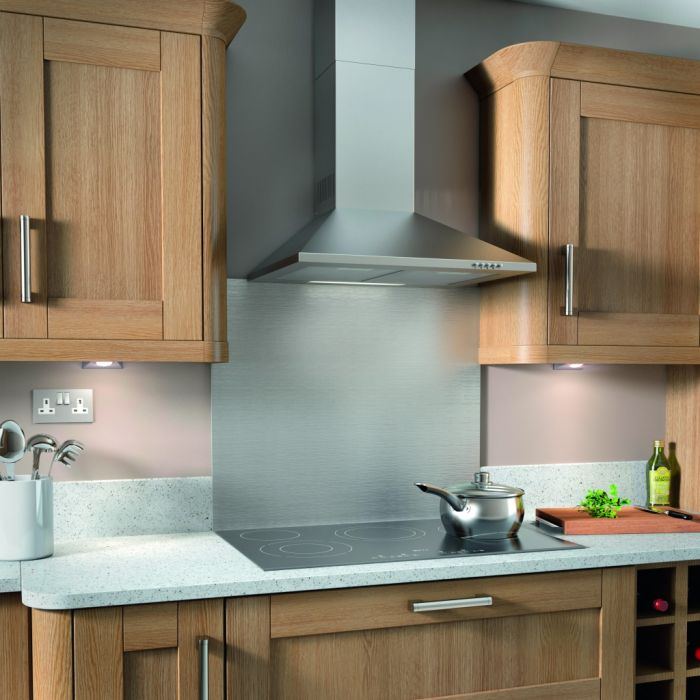 Kitchenplus Stainless Steel Chimney Cooker Hood 600mm